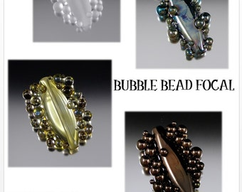 Intermediate Lampwork Tutorial - Bubble Focal Beads by That Bead Girl