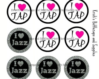 Tap and Jazz Mix Bottlecap Digital Download
