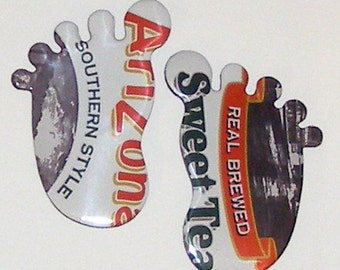 Feet Magnets - Arizona Southern Style Sweet Tea Can