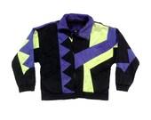 Rad 90s Neon Dual Control Light Full-Zip Ski Jacket - S