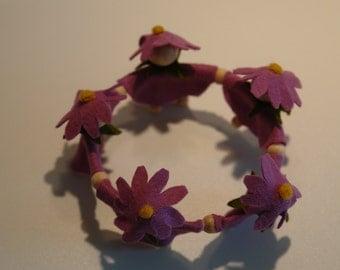 Little Flowers in a Wreath