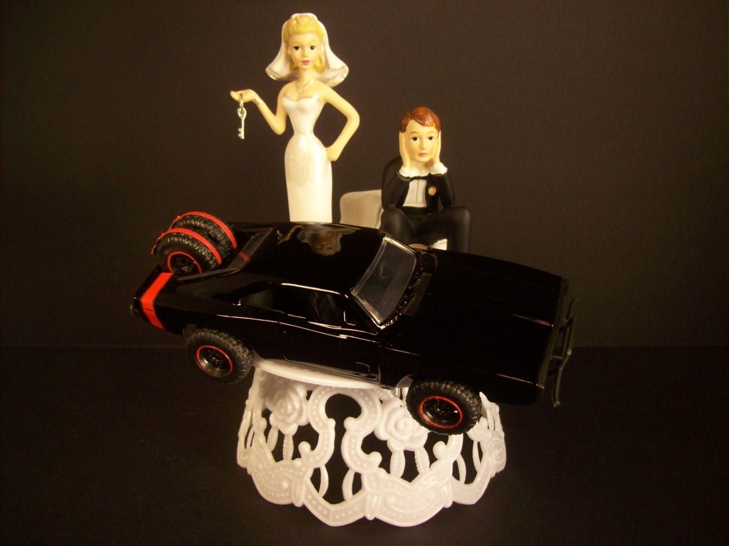 dodge truck wedding cake topper got the key wedding cake topper w black and 1970 13664