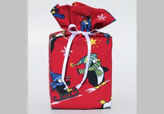 Tissue Box Cover Red Tissue Box Holder Penguin Kleenex Box Cover Christmas Kleenex Box Holder Winter Tissue Box Cover Winter Tissue Holder
