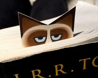 Unhappy Long Cat Bookmark