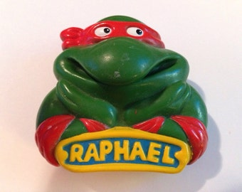 Teenage Mutin Ninja Turtles Raphael Suction Cup  Car Window