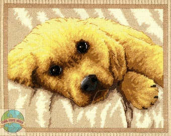 DIMENSIONS Sweet Puppy Needlework Embroidery Kit