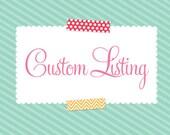 Custom Listing for abctharp