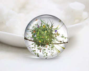 10mm 12mm 14mm 16mm 18mm 20mm 25mm 30mm Handmade Round Photo Glass Cabochons Cover (P1295)