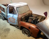 Scale Model ,Ford Pickup Truck, Diaroma Scene,  Classicwrecks,Model Truck