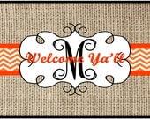 Personalized Door Mat