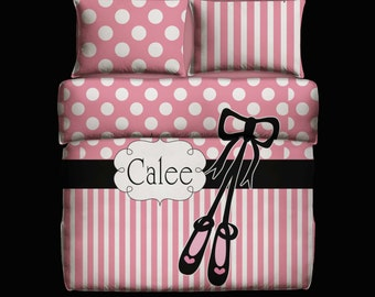 Personalized Duvet Cover or Comforter with Pillow Covers