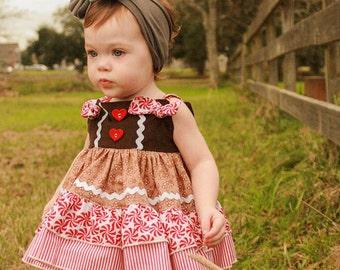 Baby Kadence's Knot Top PDF pattern sizes newborn months to 18/24 mos