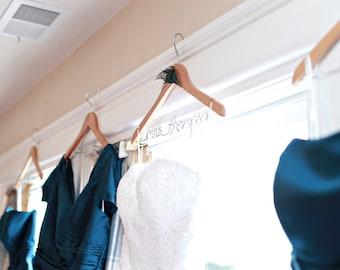 Wedding Dress Hangers Amp White Coat Ceremony By