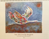 2015 Art Calendar by Margaret