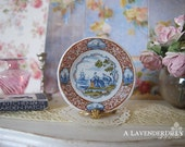 Delft By the Sea Dollhouse Plate 1:12 Scale