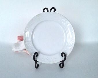 Antique ironstone plate