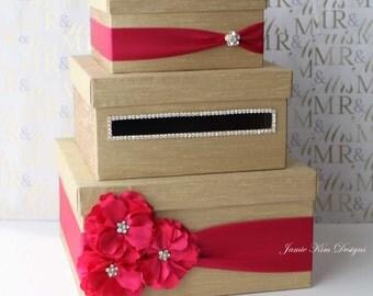 Wedding Card Box Money Holder- Custom Made to Order