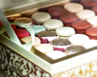 Macarons, Macaroons, Laduree, Food  Photography ,Mint Green,Fashion, Kitchen Art, Sweets, Bakery, Pastry ,Paris, Nursery,Parisian, French
