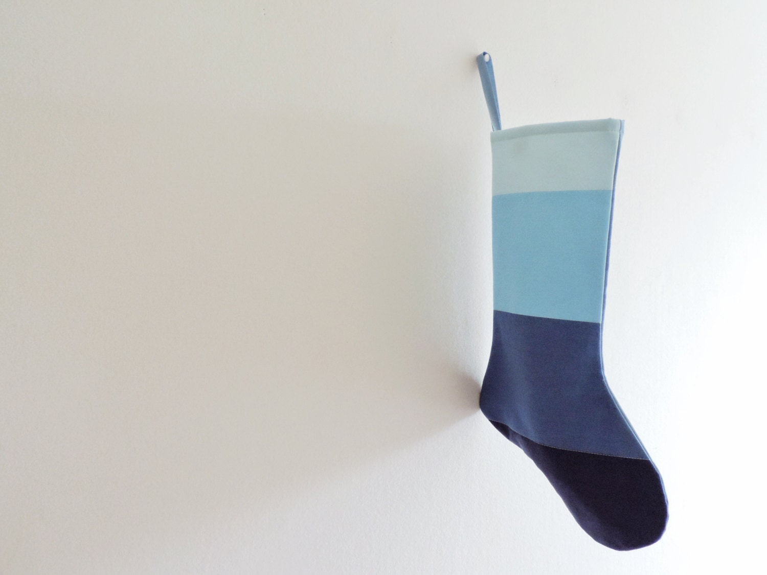 personalized christmas stocking personalized modern striped