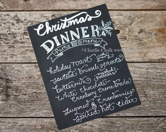 Christmas Placemat, 8.5 x 11 Christmas Table Blank Chalkboard Sign Vinyl Sheet 2 sided,Holiday Place mat, Holiday Table Decor