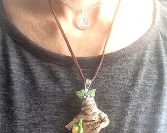 Handmade Mandrake Root pendant