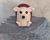Hedgehog Pocket Totem. Miniature Hedgehog Figurine, Geekery Figurine, Polymer Clay Hedgehog, Mini Hedgehog Totem by Classon Creations