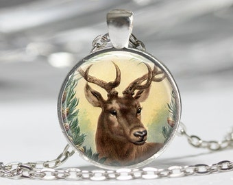 Deer Jewelry Deerl Necklace Wearable Art Jewelry