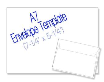 popular items for envelope template on etsy. Black Bedroom Furniture Sets. Home Design Ideas