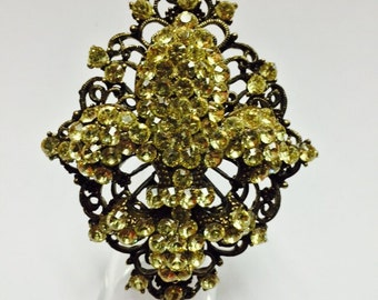 Fleur  de li ring