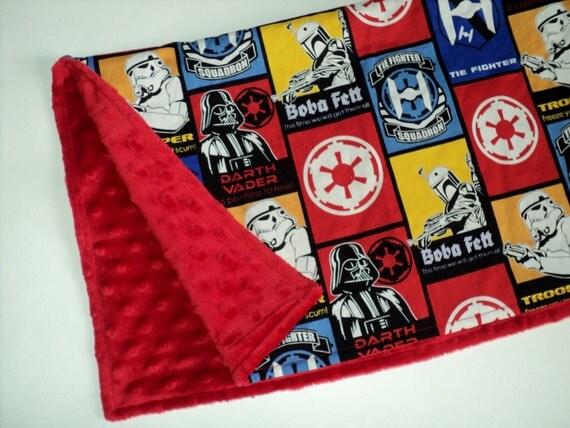 Star Wars Baby Blanket 19 x