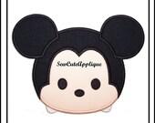 Tsum Tsum Mickey Mouse No Sew Applique Patch
