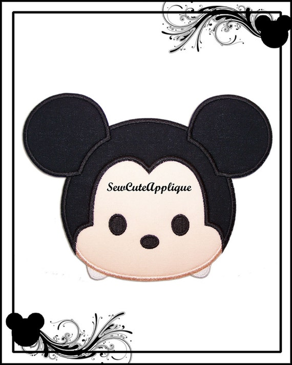 Tsum Mickey Mouse No Sew Applique Patch