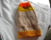 Small tan, gold and orange Sweater
