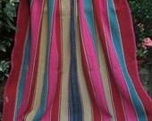 Vintage Bolivian Frazada/Frasada blanket, Aymara weaving, Quechua Phullu, Cama, Andean rug