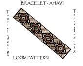 Loom pattern - native american inspired bracelet pattern - Ahawi