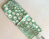 Aqua Mint Plastic Bag Keeper, Grocery Bag Holder for the Classroom or Home Office
