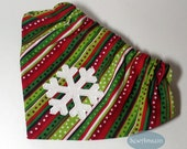 Christmas Winter Snowflake Scrunchie Bandanas - Reserved for Chris
