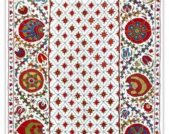 Handmade Modern Suzani L1098