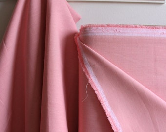 Organic Solid Fabric in Petal from the Cirrus Solids Collection from Cloud9 Fabrics. - ONE HALF  YARD Cut