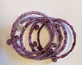 "Shades of Purple ""Bundle of Hope"" Bracelets"
