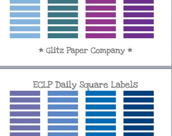 ECLP Blank Label Stickers - set of 100