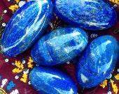 Lapis Lazuli Palm Stones - The Gem of Queens