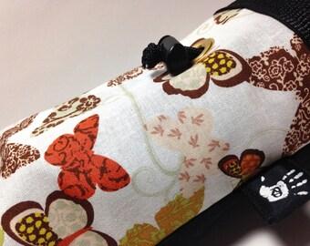Earthy Butterfly Climbing Chalkbag Fleece Lined