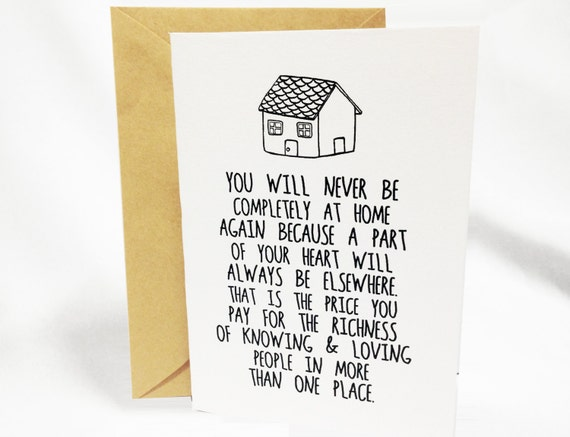 Items similar to Farewell Card - Graduation Moving ...