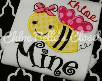 Bee Mine Ruffle Shirt