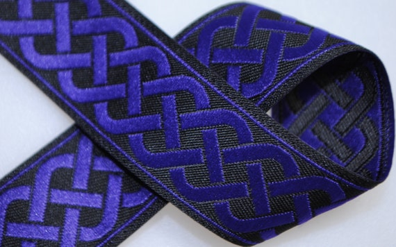 Celtic Knot Jacquard Trim 13/16 inches wide - Two, Five, or Ten Yards