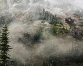 Misty Mountain 12 x 18 Fine Art Photography Print