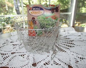 Vintage Mouli Multi-Use Collapsable Basket