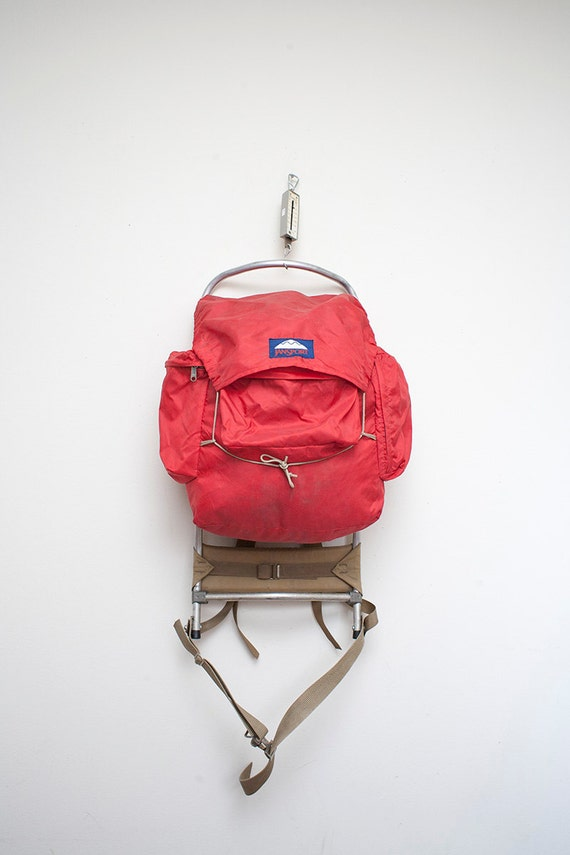 Original Jansport External Frame Hiking Backpack