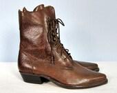 Vintage Victorian Boots Nine West 7